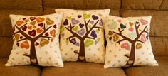 Family Tree Cushion Cover - The Supermums Craft Fair