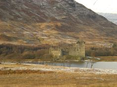 Castle in the Highlands by ADIELART on Etsy, $28.95