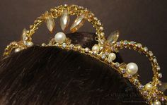 Simple Rhinestone Ballet Tiara