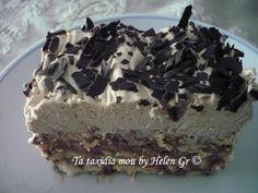 Τα ταξίδια μου : Γλυκό Ψυγείου με Μπισκότα Πτι-μπερ