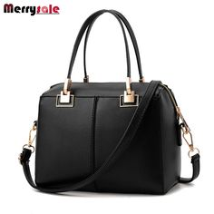 Women's bag 2017 new simple women's handbag European and American fashion shoulder bag Messenger bag manufacturers