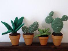 Amigurumi plants