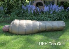 UKhammocks Down quilts use only the finest 900+fill pure white down, we have specifically designed the TopQuilt for use inside a hammock, it has a generous cut