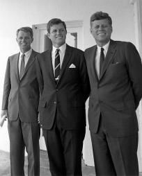 Robert, Ted, and John Kennedy Photo