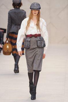 Burberry Prorsum Fall 2012 RTW at New York Fashion Week <3