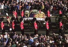 Photos of Princess Diana's funeral | grand event diana s funeral and funeral procession attracted a ...