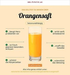 Do you like to drink orange juice? Or do you prefer to use it for cooking? How To Stay Healthy, Healthy Life, Healthy Snacks, Healthy Eating, Food Facts, Diet Meal Plans, Orange Juice, Fruits And Veggies, Superfood