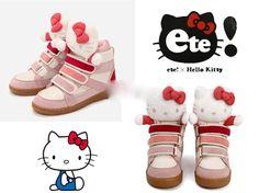 Get these Hello Kitty shoes at Rakuten Global Market!