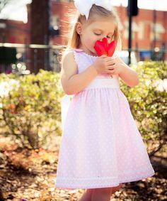 Pink Polka Dot Sash Personalized Jumper - Infant, Toddler & Girls by Princess Linens #zulily #zulilyfinds