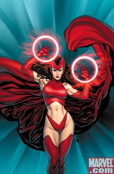 Scarlet Witch Hot | Scarlet Witch: La magia de la mutación