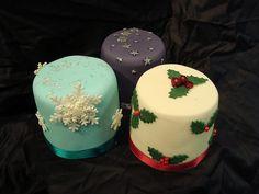 xmas mini cakes