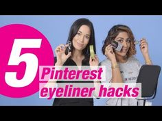 5 Pinterest Eyeliner Hacks Tested | Superdrug Put It To The Test -  Low cost social media management! Outsource  now! Check our PRICING! #socialmarketing #socialmedia #socialmediamanager #social #manager #instagram Ever wondered if the Pinterest eyeliner hacks actually work? Join Megan and Zara as they put to the test 5 hacks to get their eyeliner on fleek.... - #PinterestTips