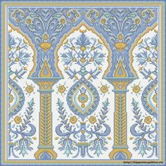 Bead Embroidery Patterns, Cross Stitch Embroidery, Cross Stitch Patterns, Fabric Print Design, Textile Design, Decoupage, Scrap, Border Design, Textile Prints