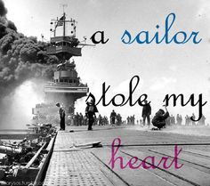A sailor did steal my heart, and he said he wanted to keep it forever..