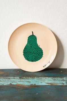 Bobo Choses Pear Melamine Plates