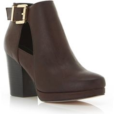 Miss Selfridge ARIA Cutout Ankle Boots ($80) ❤ liked on Polyvore featuring shoes, boots, ankle booties, burgundy, burgundy boots, faux leather booties, vegan ankle boots, cutout boots и cutout bootie