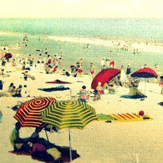 #Beach photograph VINTAGE SUMMER
