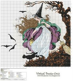 Atelier Colorido PX: Bruxa ao vento...