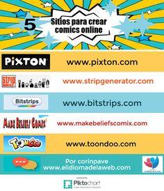 sitios online para crear comics