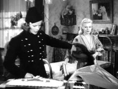 """""""Stage Door"""", 1937-- Katharine Hepburn, Ginger Rogers, Adolphe Menjou, Lucille Ball. The story of several would-be actresses who live together in a boarding house and share the accomplishments and disappointments of life. Great dialogue, as this clip shows."""