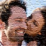 Personalized One Year Wedding Anniversary Puzzle