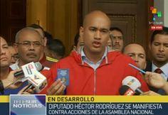 Chavistas atacam imprensa durante sessão da Assembleia Nacional