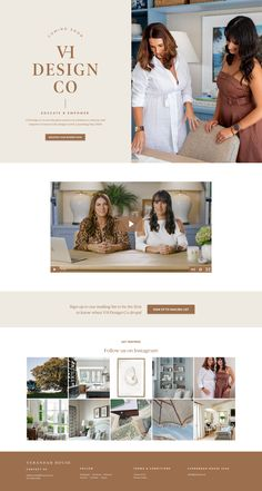 Example of Kajabi Landing Page Web Design Tips, Brand Design, Page Design, Design Ideas, Interior Design Courses, Interior Design Website, Website Layout, Website Ideas, Landing Page Examples