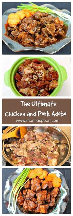 To say that I love Adobo is an understatement! I live Adobo! The proof - this is my 4th version of this famous Philippine national dish a...