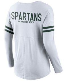 Nike Women's Michigan State Spartans Tailgate T-Shirt - White XXL