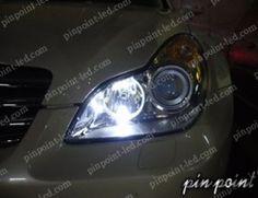 信頼の日亜化学工業LEDを使用。CLS(W219)専用LEDポジションランプ。 http://www.pinpoint-led.com/product/42