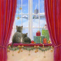 Meowy Christmas - sarah summers
