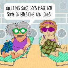 Mrs. Bobbins: Quilter's Tan