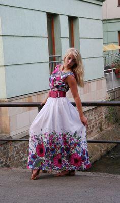 Když léto kvete - šaty   Zboží prodejce Marcipánek 52e85b2ca9