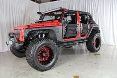2013 JEEP WRANGLER UNLIMITED SPORT WITH 4″ LIFT AND 38″ TIRES