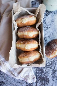 What's more indulgent than a fried sweet dough? Maybe a fried doughnut that's been heavily stuffed with a creamy vanilla custard and a perfectly crunchy glaze on top. These Creme Brulee Doughnuts are Irresistible!