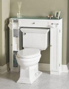 Clever Bathroom Storage on Pinterest | Pedestal Sink Storage ...