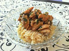 Thai Basil Chicken  http://shrutidfoodi.com/2013/05/06/thai-basil-chicken-gai-pad-krapow/
