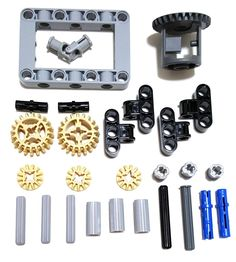 Amazon.com: LEGO Technic Differential gear box kit (gears, pins, axles, connectors) 27 pieces: Toys & Games