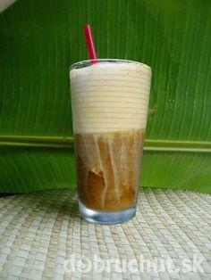 Ice cafe home edition podla Jara ľadová káva Shot Glass, Pudding, Smoothie, Tableware, Desserts, Alcohol, Tailgate Desserts, Dinnerware, Deserts