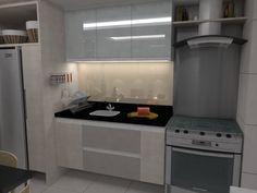 Cozinha - Apartamento Residencial Condomínio Ed. Arvoredo