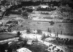 Circo Massimo (1925) Ancora non c'è la statua di Mazzini su P.le Romolo e Remo (oggi P.le Ugo La Malfa).