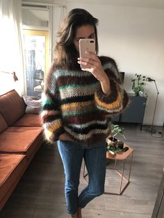 Fotos Do Instagram, Mohair Sweater, Foto E Video, Knitwear, Knit Crochet, Sweaters, Mint, Pullover, Wool