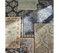 Bryson Persian Style Rug · Persian Style RugsPottery BarnBlue ...