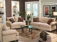 Finding Cosy Living Room Ideas to Adapt It on Your Living Room: Amazing Cozy Living Room Furniture Decorating Ideas Home Designs With White Sofa Sets Also Glass Top Rounded Coffee Table On Coloring Rugs ~ workdon.com Living Room Inspiration