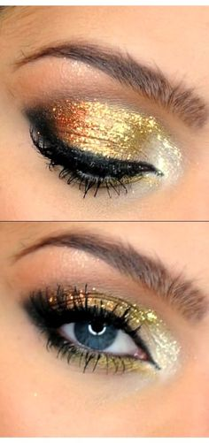 Carli bybel sparkly eyeshadow products used mac paint bare canvas as eye shadow bare bybel canvas carli eye eyeshadow mac paint products shadow sparkly how to beachy waves hair tutorial carli bybel beachy bybel carli hair tutorial waves Makeup Blog, Love Makeup, Makeup Looks, Makeup Tips, Sparkly Eyeshadow, Makeup Eyeshadow Palette, Golden Eyeshadow, Make Up Tutorials, Prom Makeup