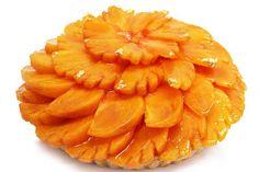 カフェコムサから和歌山県の最高級柿をふんだんに使用したケーキ「希」が登場