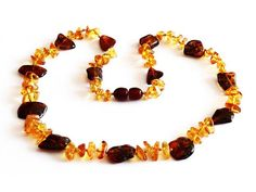 ADULT Multicolor Baltic Amber Necklace by SERENITYAMBER on Etsy, $23.00