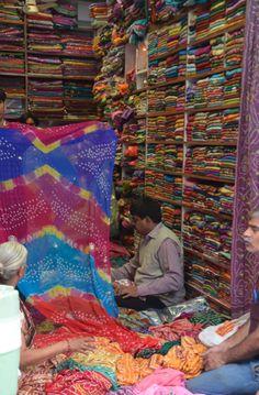 """Finding my favorite fabrics (shhhh!  Don't tell anyone!)"" - Martyn Lawrence Bullard."
