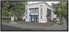 JENG 3D  Space Design 環象‧空間造型設計: 室內設計_商業空間_Simmons席夢思專賣店-竹北嘉豐-外觀
