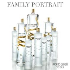 Roberto Cavalli Vodka, Family Portrait